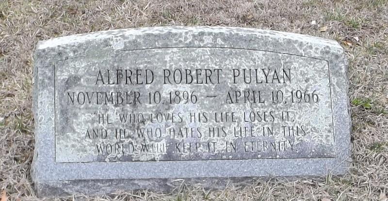 alfred pulyan grave